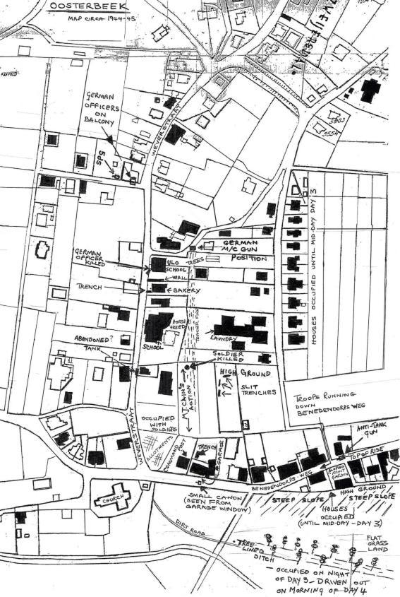 Arnhem Battle Map by Quot Arnhem Battle Research