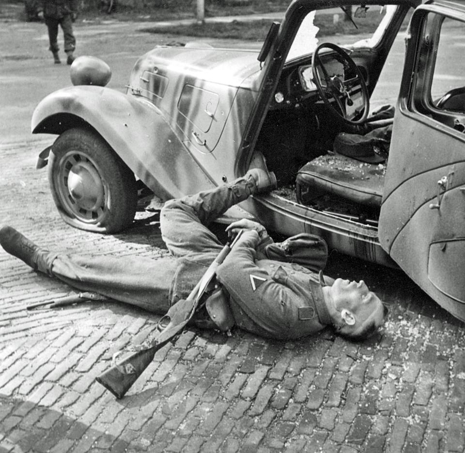 The Body Of General Kussin S Driver Who Were Killed By
