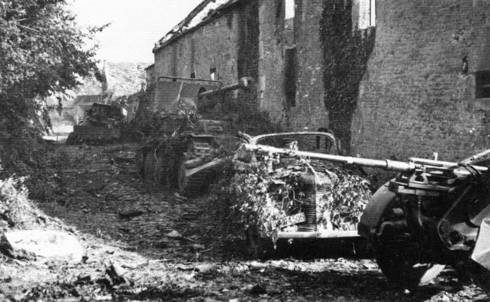Resultado de imagen de Marder III Ausf M del Panzerjäger Abteilung 346 breville