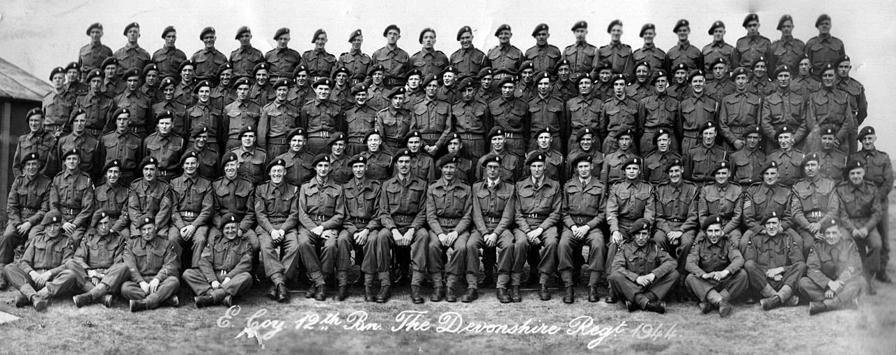 Company, 12th Battalion The Devonshire Regiment. Corporal William ... Pegasus